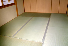 裏返し畳の写真